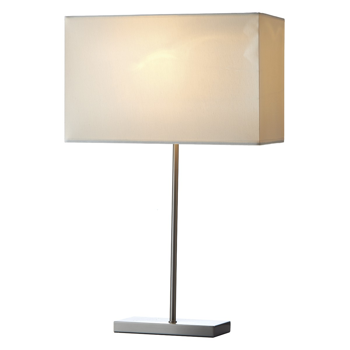 Jean Table Lamp Base Only Satin Chrome from Franks Complete House Furnishers