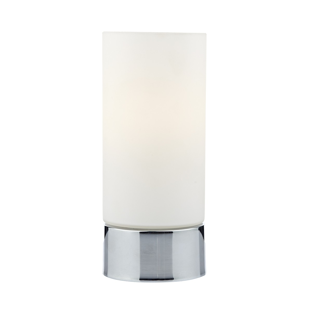 Jot Touch Table Lamp Polished Chrome Complete With Glass Shade from Franks Complete House Furnishers