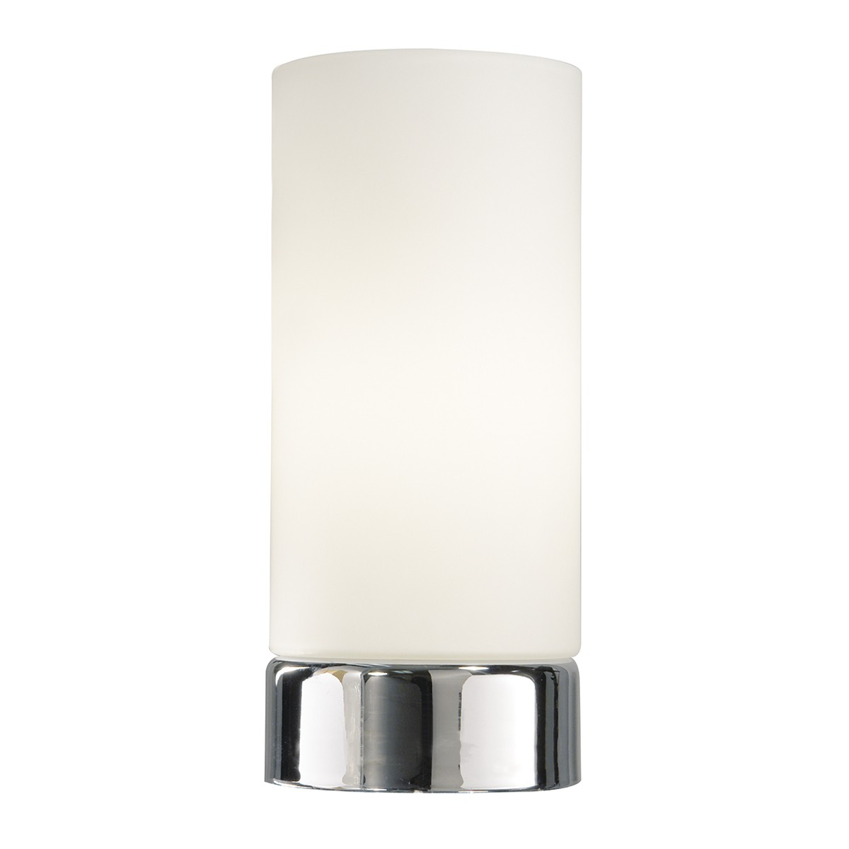 Owen Touch Round Glass Table Lamp Complete With Shade from Franks Complete House Furnishers